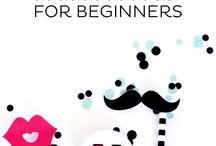 Graphic design - how to / Ideen zu schönem Grafikdesign, Schriften, Muster, Fonts