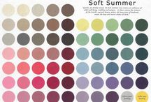 soft summer colors