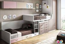 Double bunk room ideas