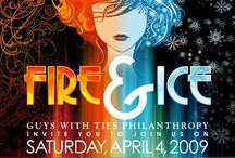 Fire & Ice theme party