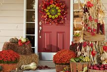Fall decorations / by Julie Butkus