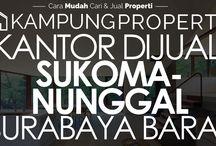 Kantor Dijual / Disewakan di Surabaya Barat