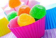 bombones de fruta y chocolate