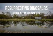 Our Custom-Designed Bounder RV / We've worked with Fleetwood RVs to help design a custom, more modern, RV...take a look and let us know what you think!