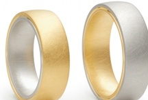 wedding bands with a twist / Just a slightly different take on the traditional wedding bands. As something one wears for many many years (hopefully!) I believe they should be simple and make a subtle statement