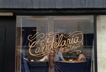 Window Graphics - Inspiration / Inspiring window graphics and lettering designs from around the world.