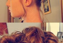 Braided Messy Buns
