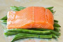 Salmon and Seafood
