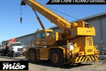 CRANES / Search for Used Cranes for Sale Or Rent At Affordable Prices. Find High Quality Tadano Crane, And Get World-Class Service At Mico Equipment. Request A Quote Now.