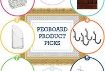 Pegboard ideas