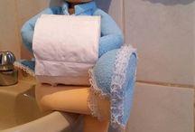 Boneca porta papel Higienico (tirada da internet) .