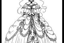 로코코 드레스