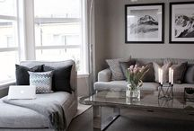 Grey colour in Home Decor