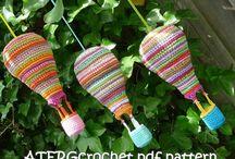 Loca con las lanas - Detalles / Guirnaldas, posavasos, mandalas, florecitas....