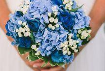 насыщеный синий