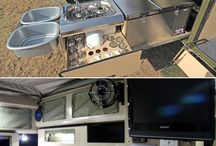 TRAILER CAMPING IDEAS