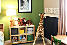 boys bedroom light green