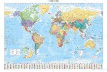World Maps/Educational