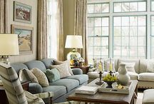 Living Rooms / by Rebecca Loewke Interiors