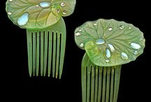 Vintage Hair Combs/Jewelry