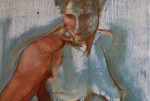 Paintings that evoke / by Mieke van Waveren