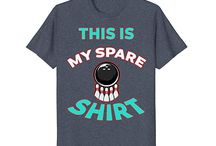 My Spare Shirt For Bowling / This board is for all people who loves playing bowling