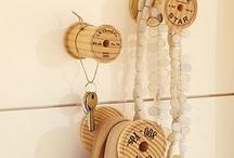 i like wooden spools