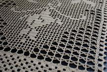 Chemin de table au crochet