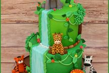 First birthday party theme - Jungle