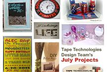 Tape Technologies Design Team Posts / Crafts featuring Tape Technologies Vinyl.