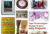 Tape Technologies Design Team Posts / Crafts featuring Tape Technologies Vinyl.