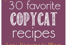 {Copycat recipes}