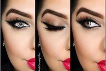 Make up / Maquiagens e ideias