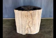 Outdoor Side Tables / Beautiful outdoor side tables.