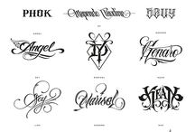 letters fonts style tattoo