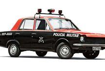 Polícia Militar de São Paulo (viaturas antigas)