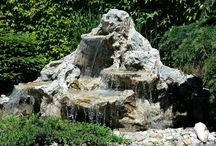 kameň v zahrade