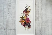 Wedding Flower Press Framed