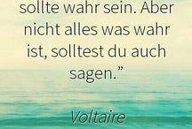 Zitate/ Sprüche