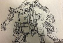 Robots and ships
