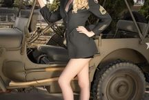 Soldier Pin-Up