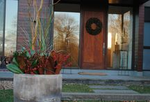 Holiday Decorating / Here are a few holiday decorations by Marvin Gardens...call now to schedule your installation!