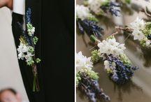 Olive and lavendar