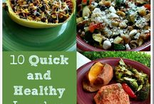 Food:Lunches / Less cooking, lunches, easy dishes that are healthy