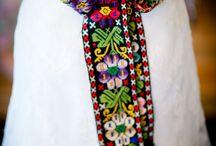 пояса с вышивкой