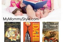 Book Lists for Kids / Great read aloud lists, character building, inspirational, elementary book projects, books for boys and more.
