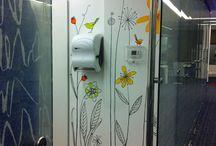 Murales Cafetería / Cafetería en oficina