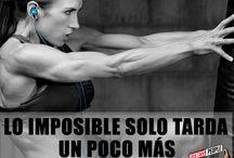 Motivación Fitness / Piensa en grande y vive igual, que tus metas sean claras y te hagan llegar lejos, vida fitness