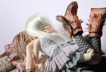 Poupées / Dolls / by une Bigoudène à Paris