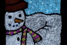 Art Projects for kids:winter